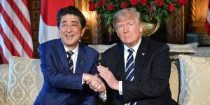 ترامب يطالب من رئيس الوزراء الياباني بالنظر إلى عرض الكازينو