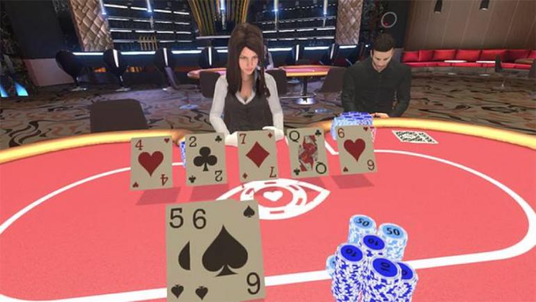 الواقع المعزز AR للمقامرة عبر الإنترنت
