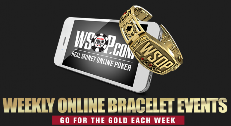 بطولة العالم للبوكر توفر فرص للفوز على سوار WSOP