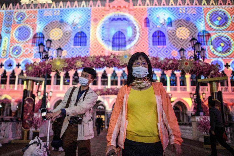 فيروس الصين يجعل السكون يخيم في ماكاو