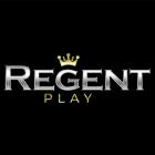 regent black background logo